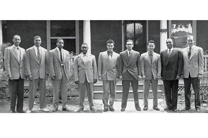 By the 1950s, Omega Psi Phi included both Caucasian and Asian members, making it the first multicultural organization at Penn State.