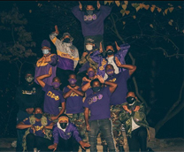 Omega Psi Phi Nu Chapter in 2021.